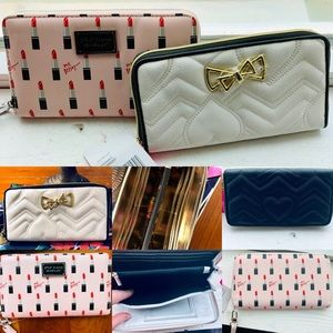 (2) NWT Betsey Johnson Wallets